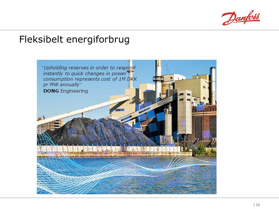 Fleksibelt energiforbrug