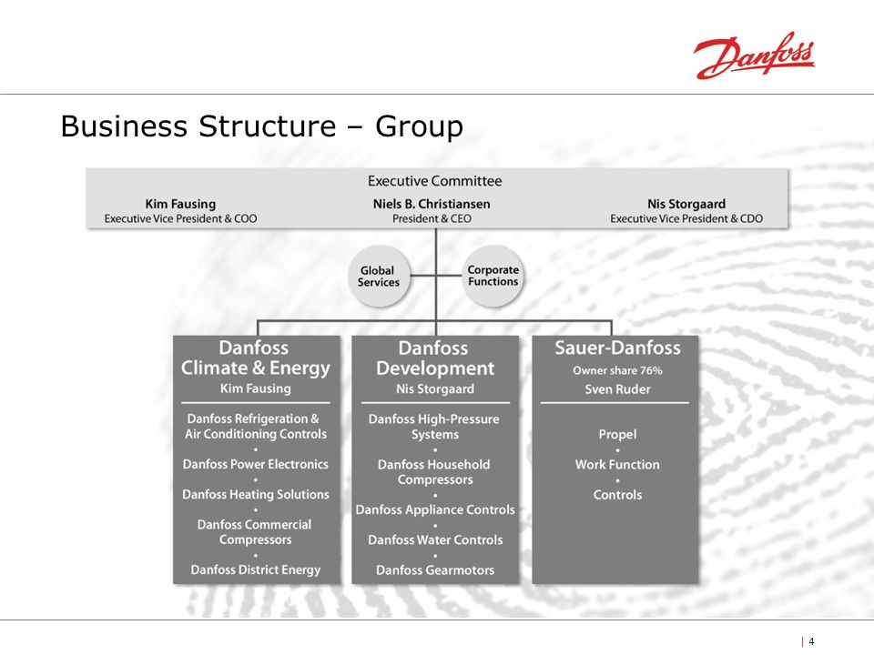 Business Structure – Group