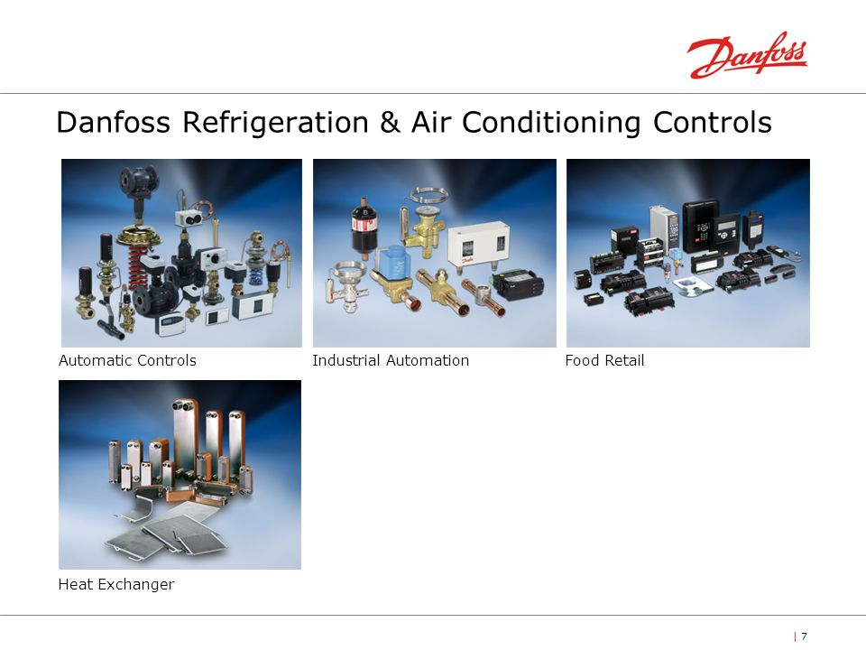 Danfoss Refrigeration & Air Conditioning Controls