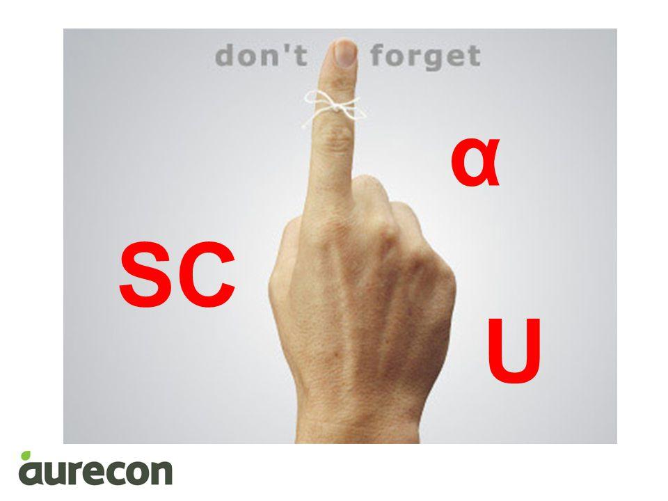 α SC U