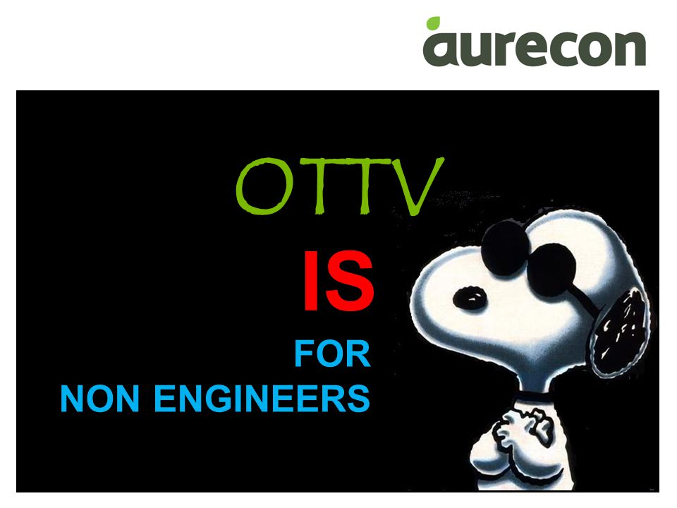 OTTV IS FOR NON ENGINEERS