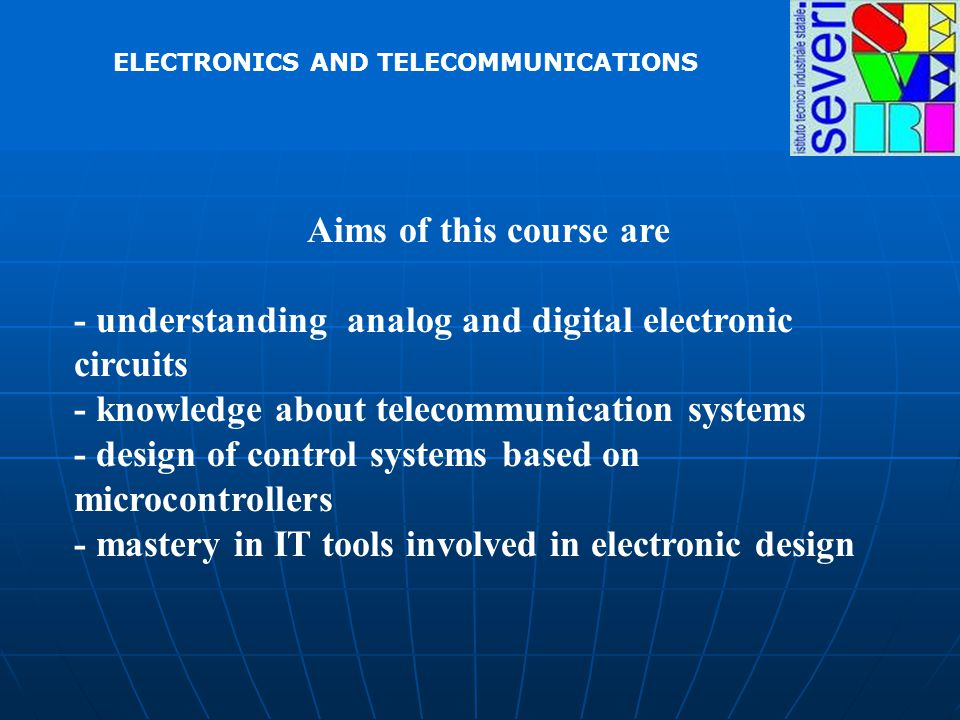 ELECTRONICS AND TELECOMMUNICATIONS