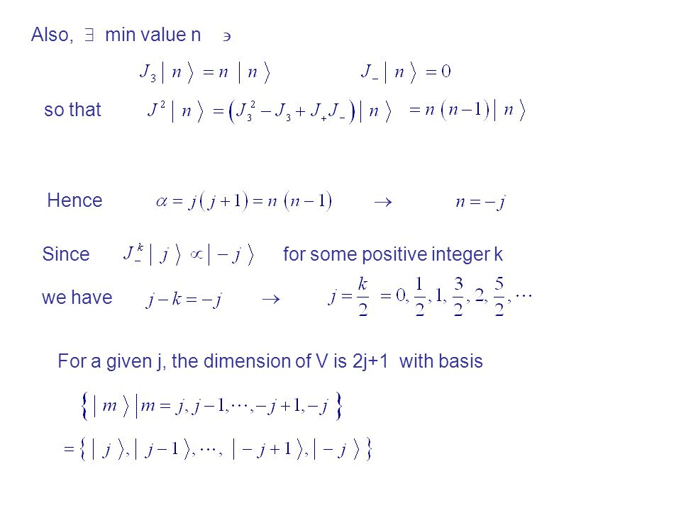 Also,  min value n  so that. Hence.  Since. for some positive integer k. we have. 