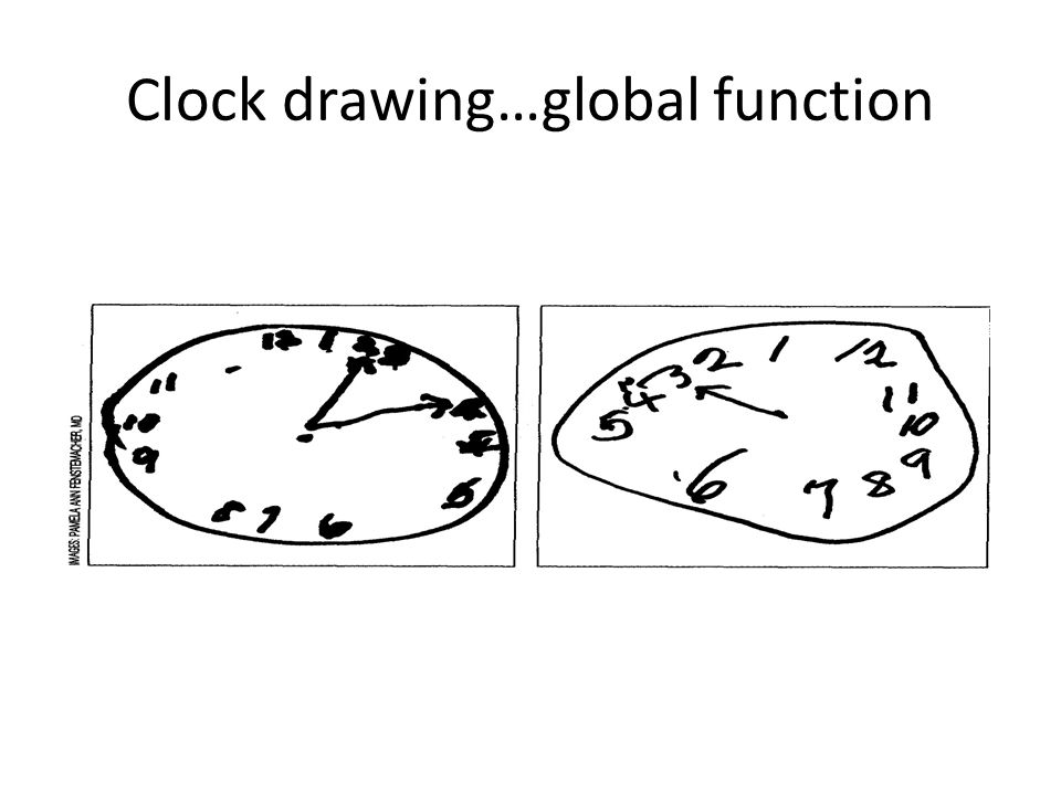 Clock drawing…global function