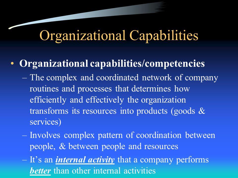Organizational Capabilities