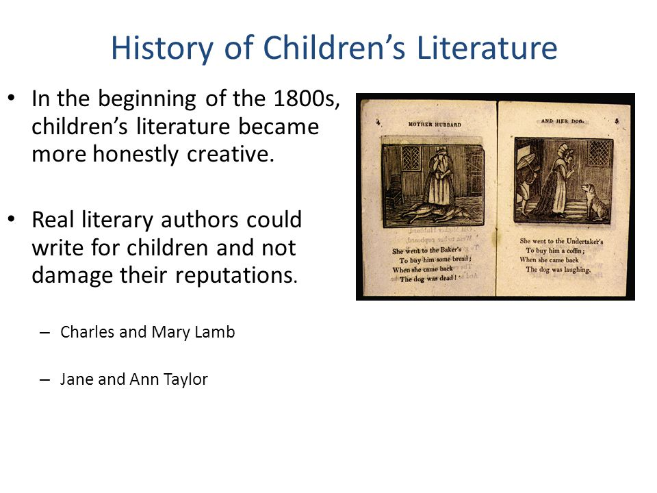 History of Children's Literature