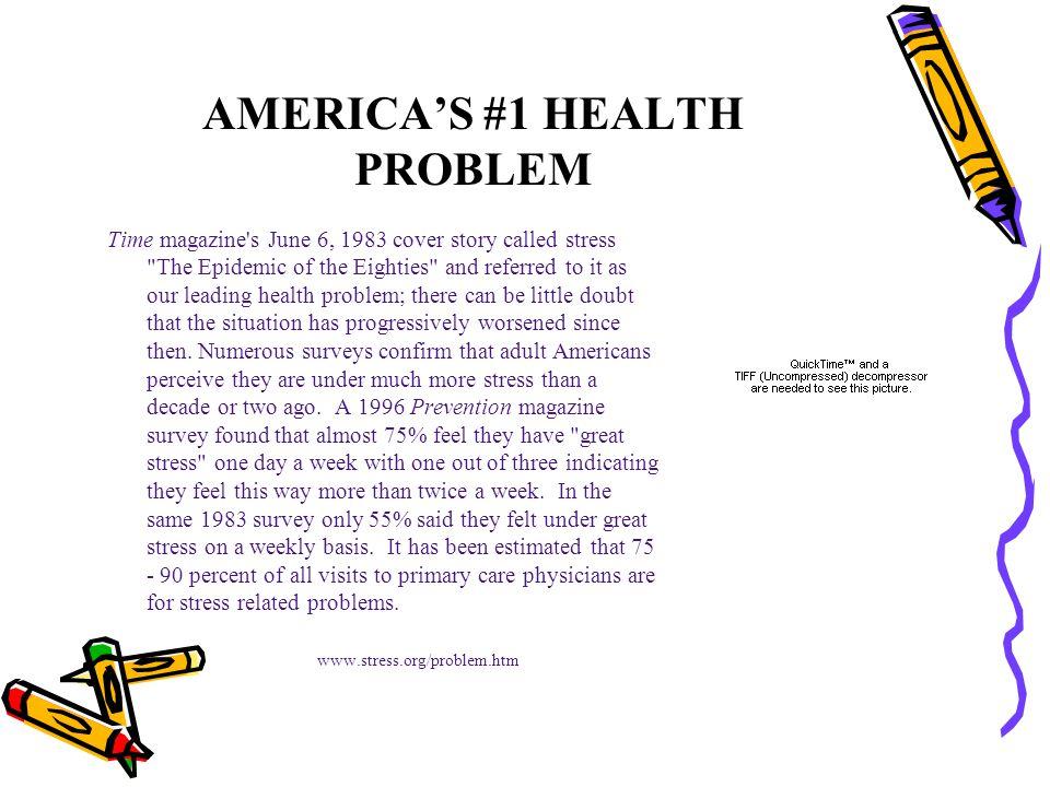 AMERICA'S #1 HEALTH PROBLEM