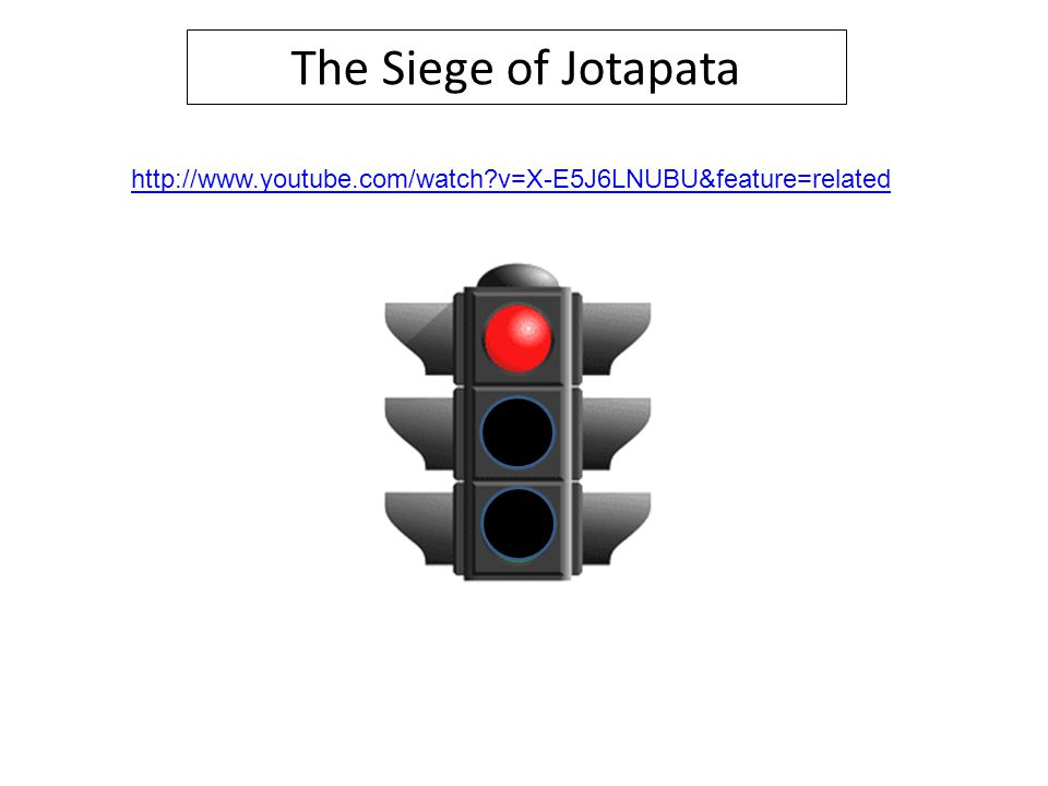 The Siege of Jotapata http://www.youtube.com/watch v=X-E5J6LNUBU&feature=related Show first 5 mins