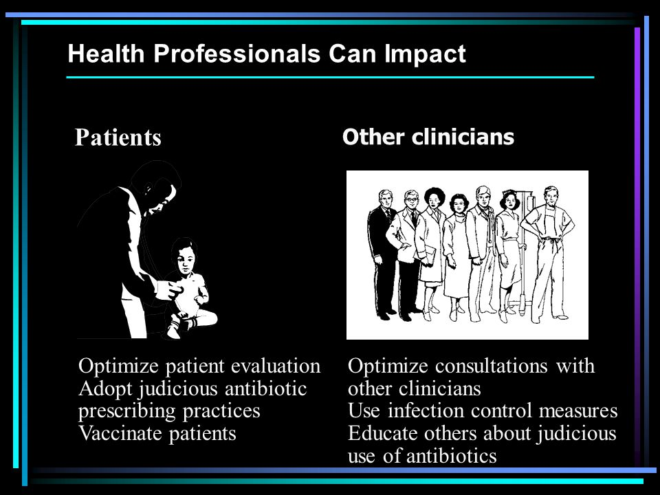 Health Professionals Can Impact