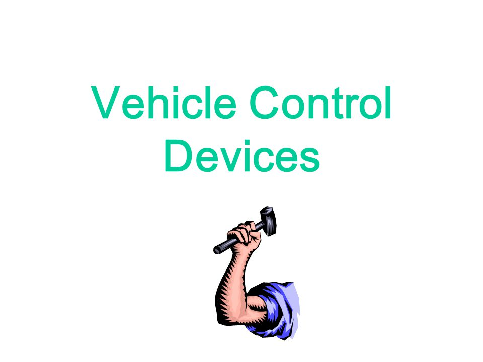 Vehicle Control Devices