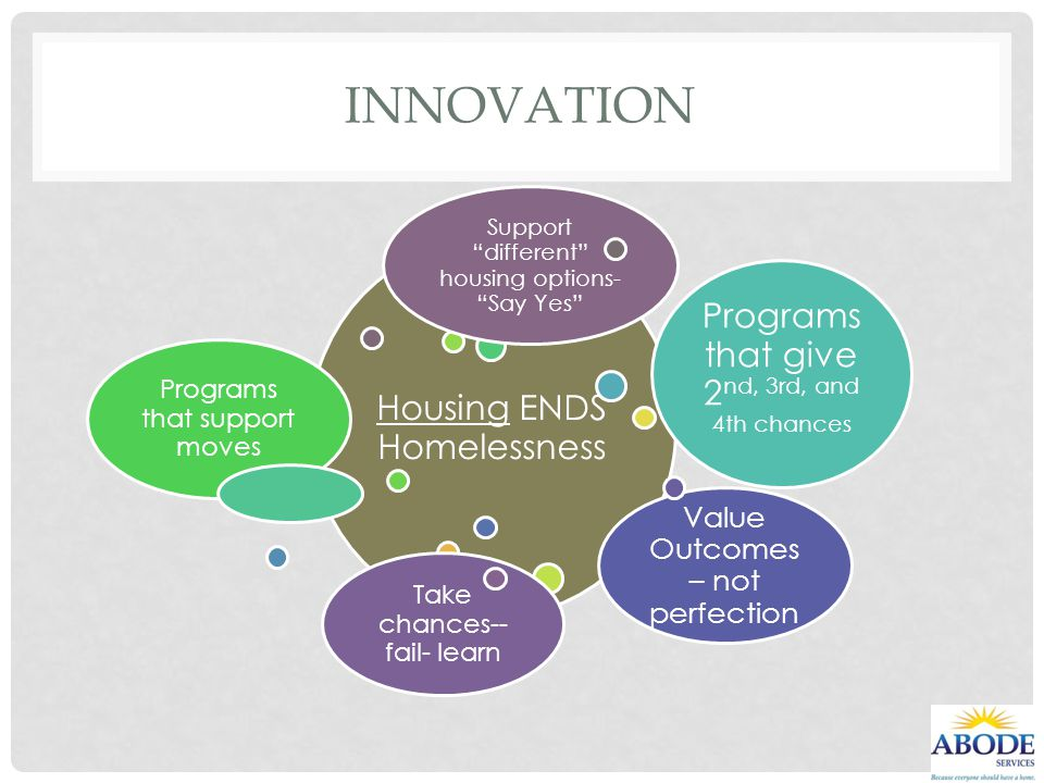 Innovation Programs that give 2nd, 3rd, and 4th chances