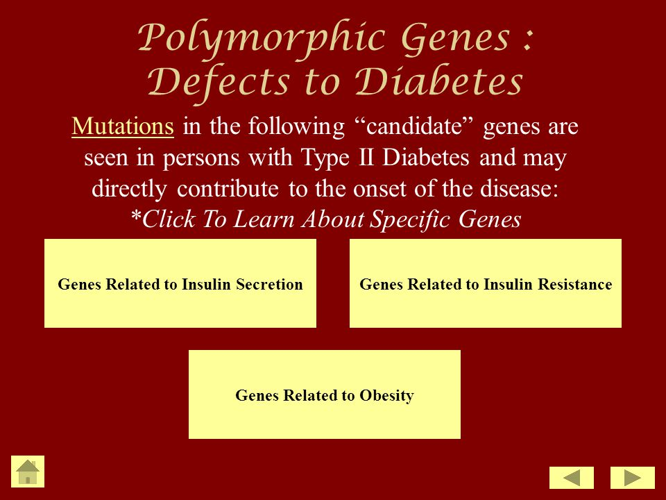 Polymorphic Genes : Defects to Diabetes