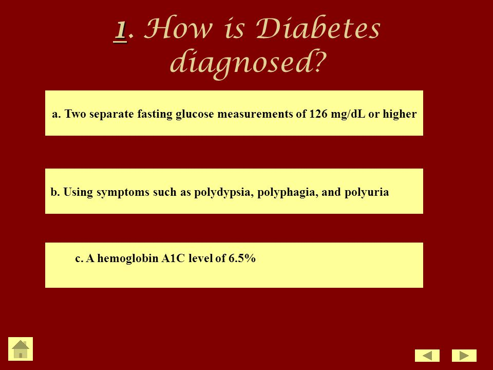 how to get diabetes diagnosed
