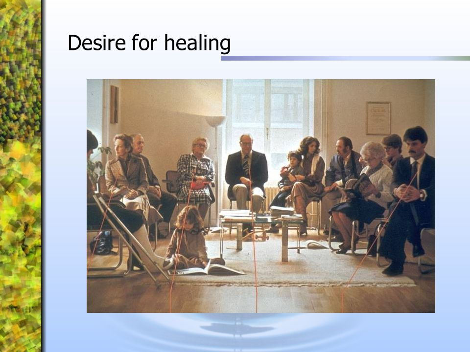 Desire for healing
