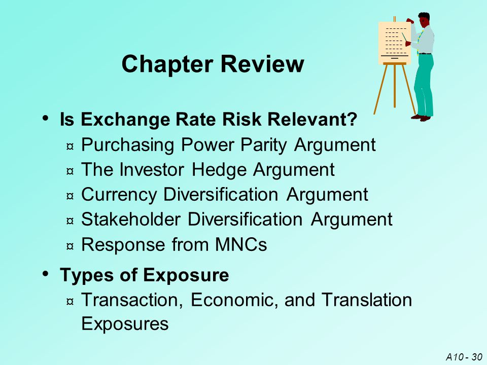 Chapter Review Is Exchange Rate Risk Relevant