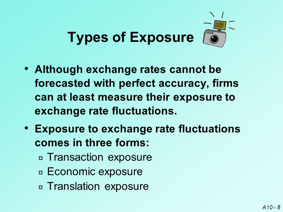 Types of Exposure