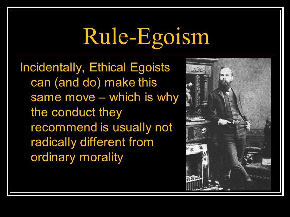 Rule-Egoism