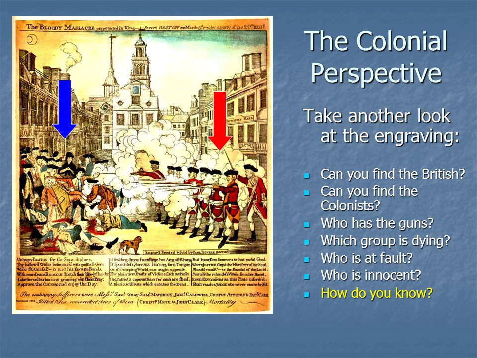 The Colonial Perspective