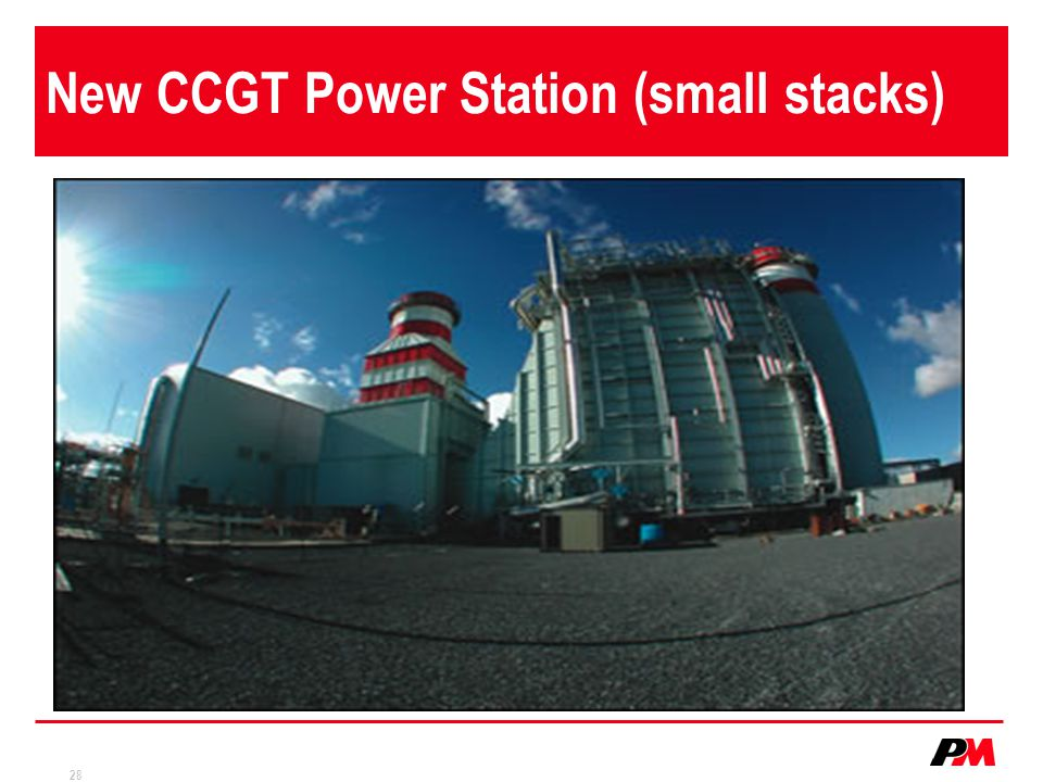 New CCGT Power Station (small stacks)
