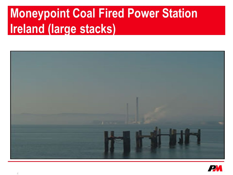 Moneypoint Coal Fired Power Station Ireland (large stacks)