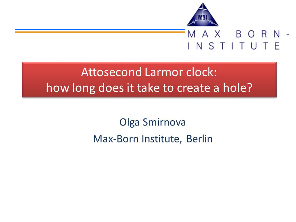 Attosecond Larmor clock: how long does it take to create a hole