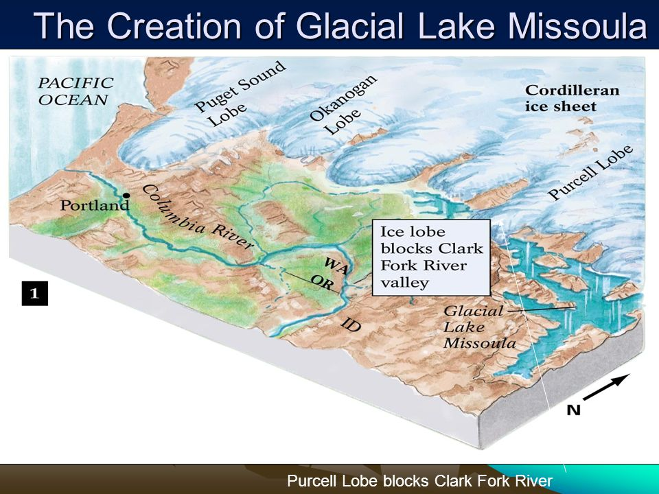 The Creation of Glacial Lake Missoula