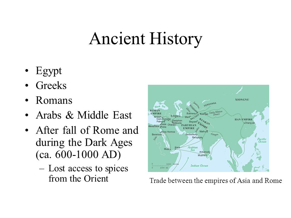 Ancient History Egypt Greeks Romans Arabs & Middle East