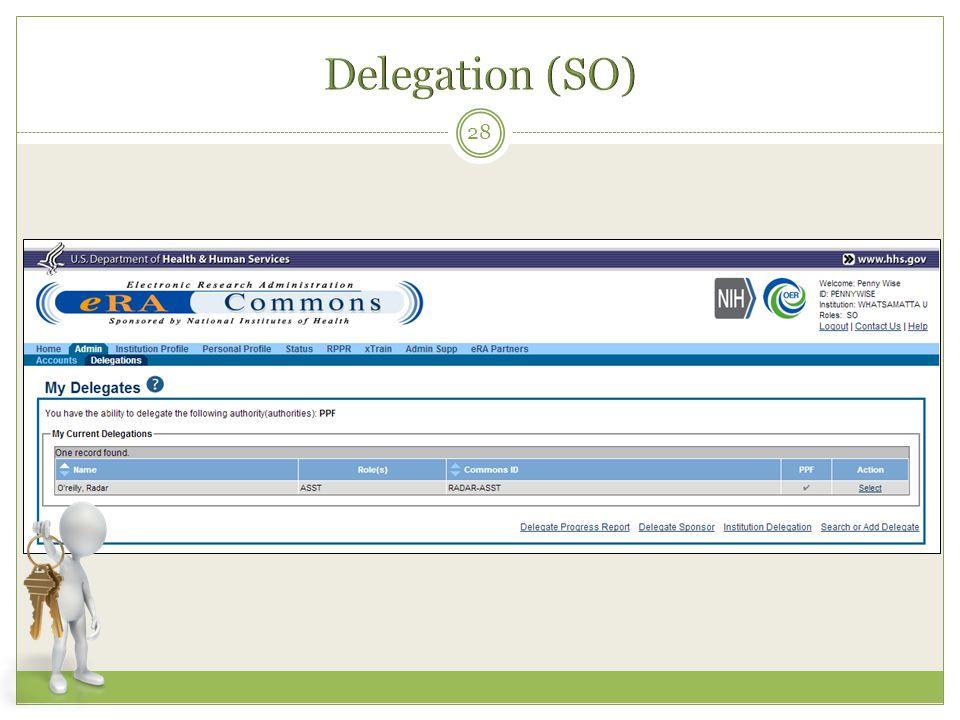 Delegation (SO)