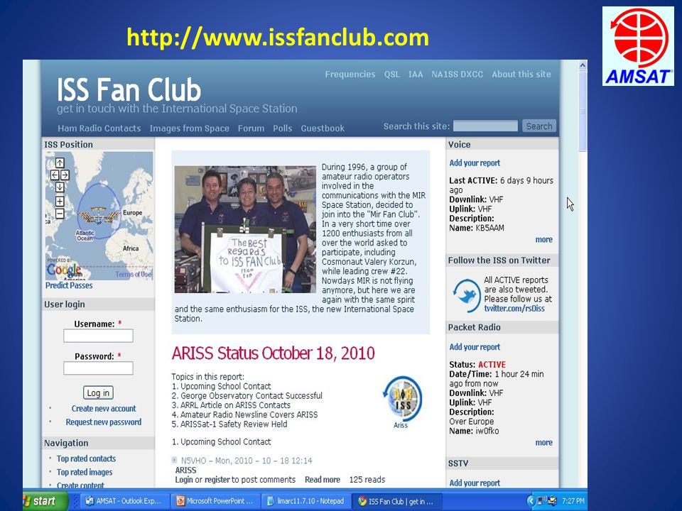 http://www.issfanclub.com