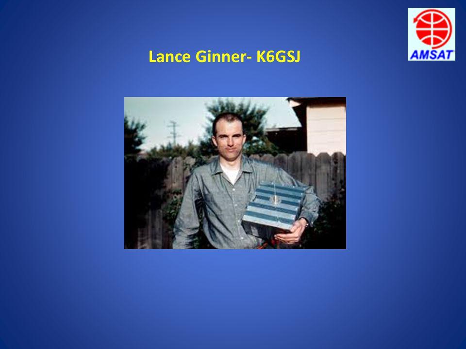 Lance Ginner- K6GSJ