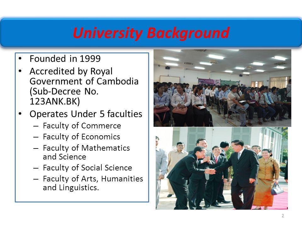 University Background