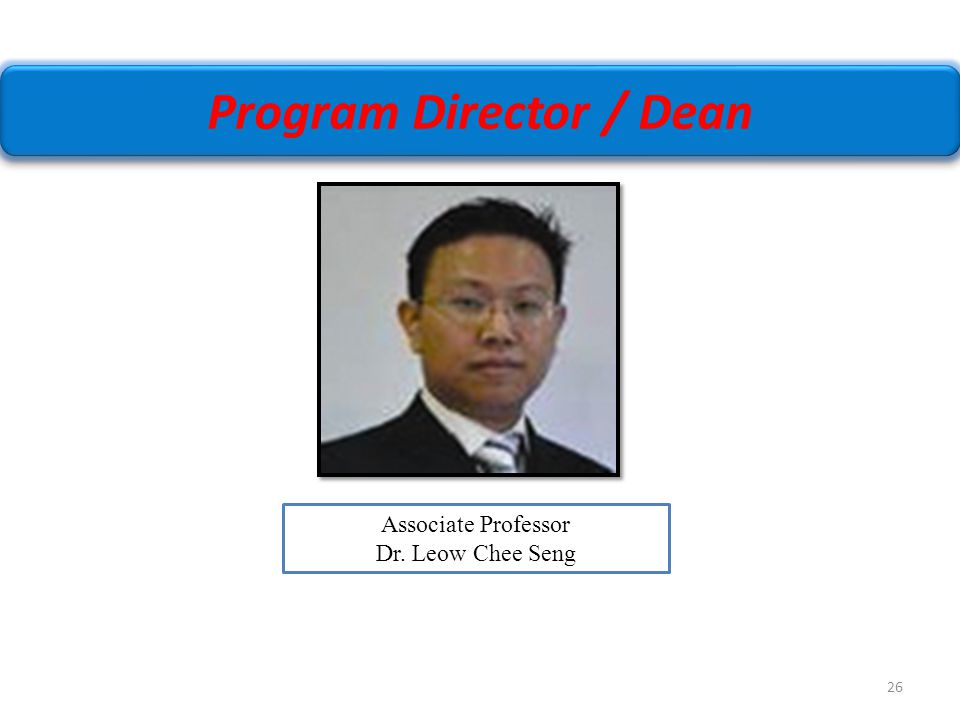 Program Director / Dean