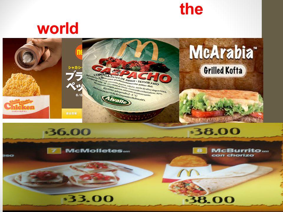 McDonalds around the world