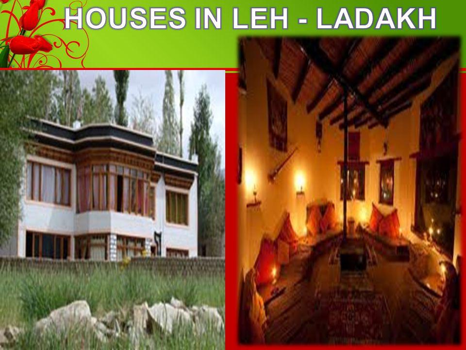 HOUSES IN LEH - LADAKH