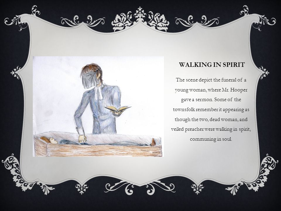 Walking in spirit