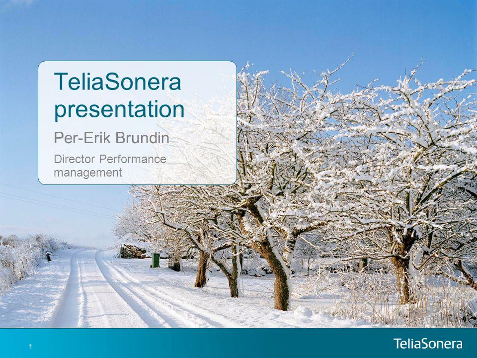 TeliaSonera presentation