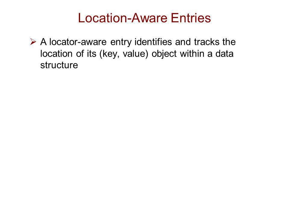 Location-Aware Entries