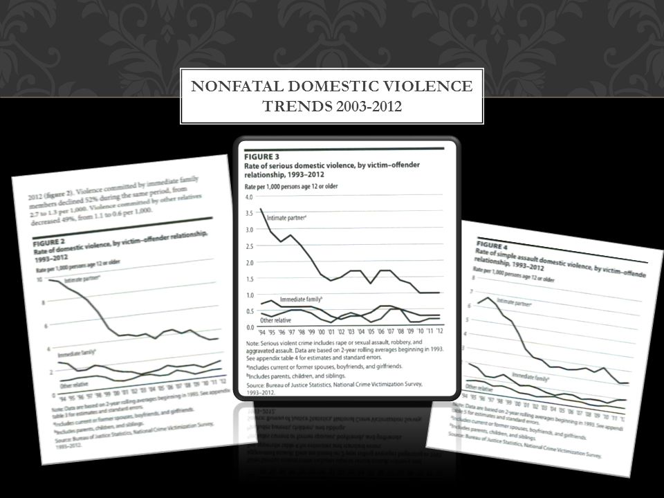 Nonfatal Domestic Violence Trends 2003-2012