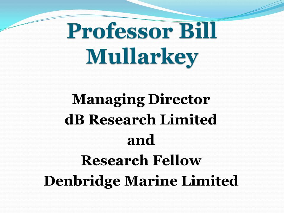 Professor Bill Mullarkey
