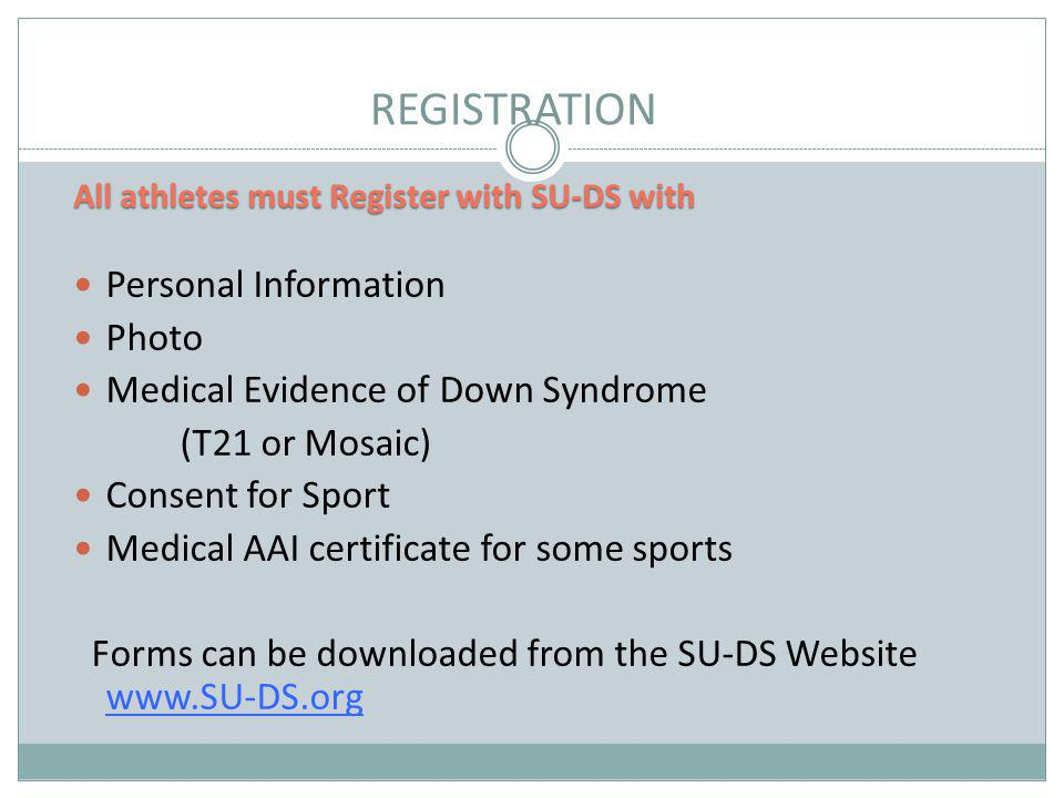 REGISTRATION Personal Information Photo