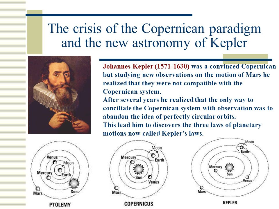 The crisis of the Copernican paradigm and the new astronomy of Kepler