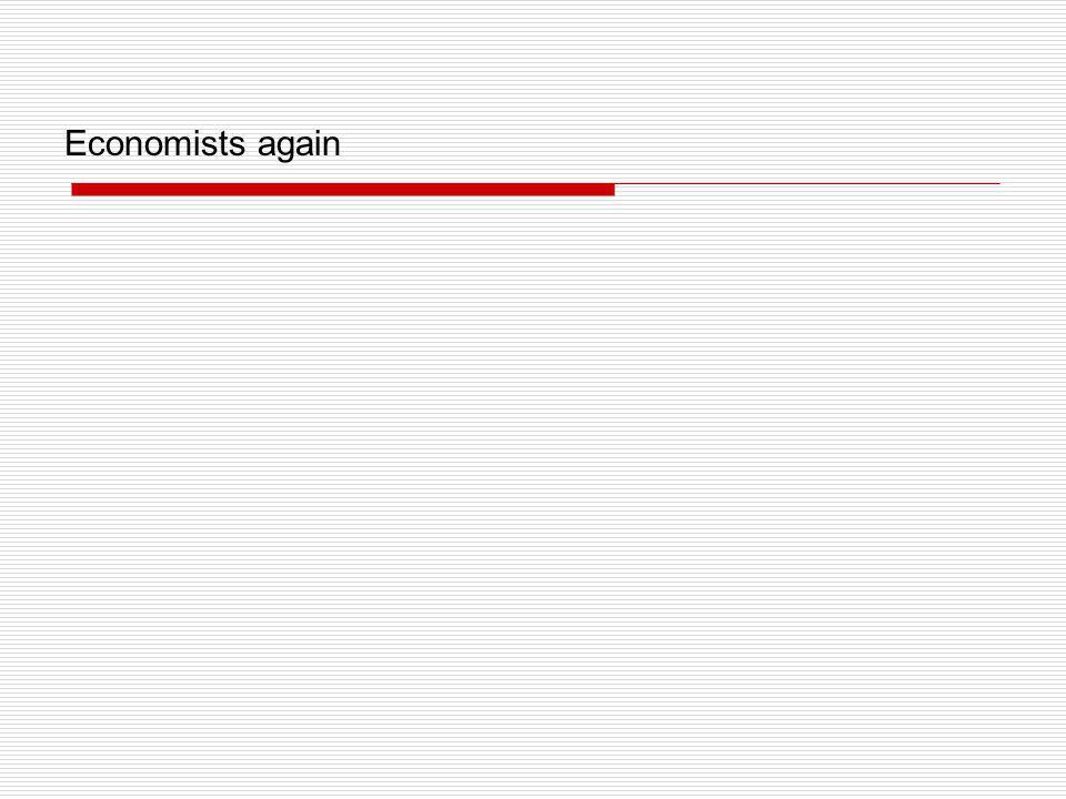 Economists again