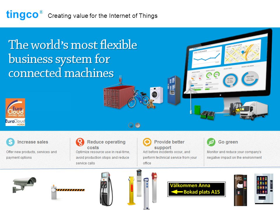 tingco Creating value for the Internet of Things