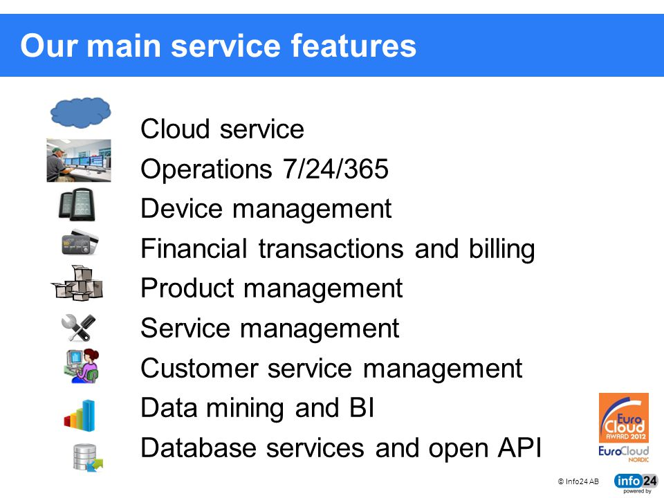 Our main service features
