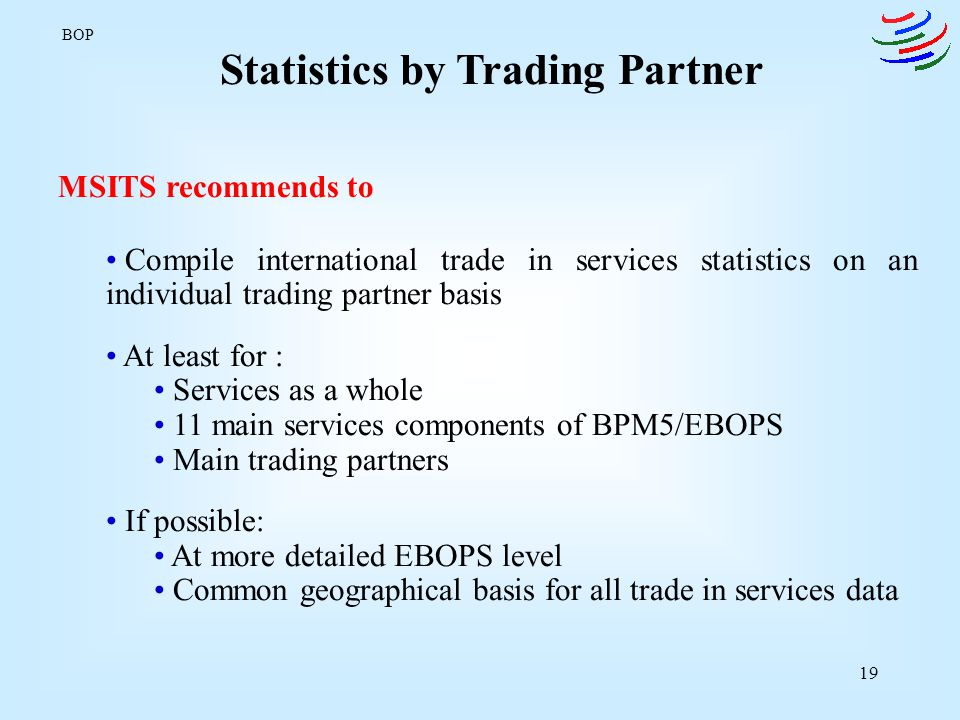 Statistics by Trading Partner
