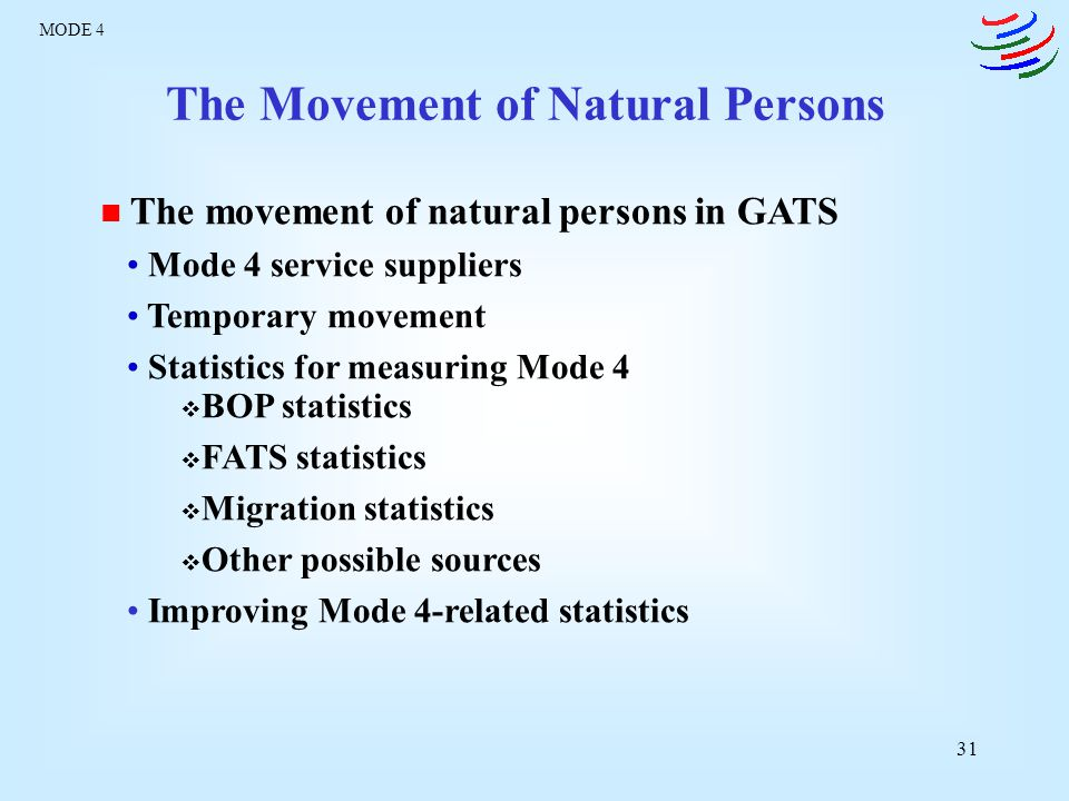 The Movement of Natural Persons
