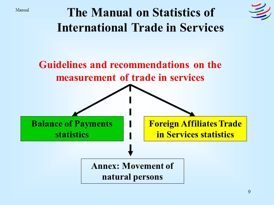 The Manual on Statistics of International Trade in Services
