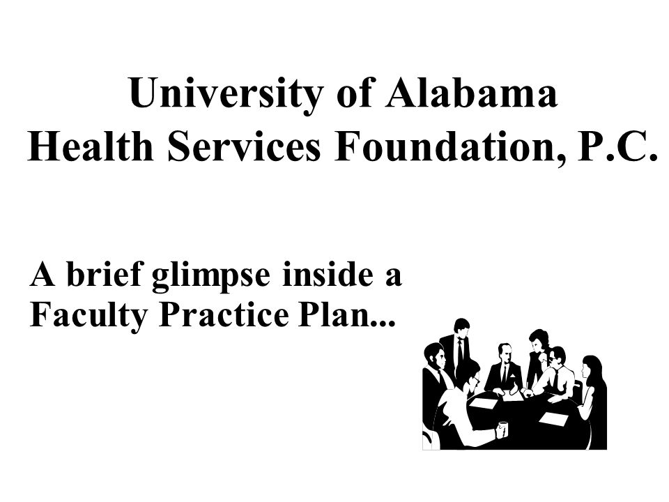 University of Alabama Health Services Foundation, P.C.
