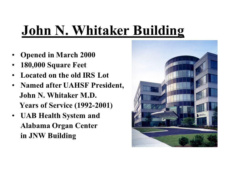 John N. Whitaker Building
