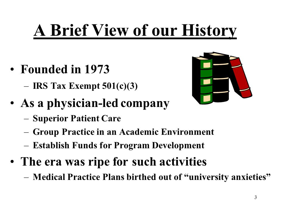 A Brief View of our History